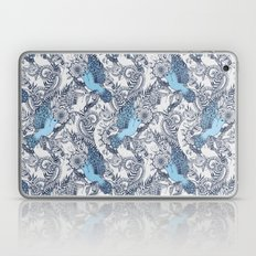 Flight Of Fancy - Navy, … Laptop & iPad Skin
