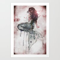 Mermaid II Art Print