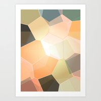 Heavenly Patterns Art Print