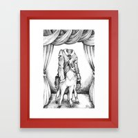 Haunted Clothing- The Co… Framed Art Print