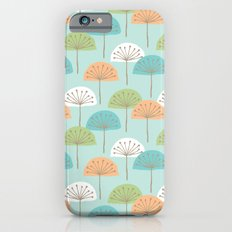 wispy flowers Slim Case iPhone 6s