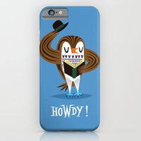 iPhone & iPod Case featuring The Howdy Owl by Oliver Lake