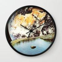 La Terra da un punto di vista privilegiato Wall Clock