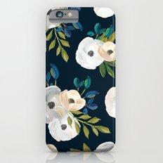 Midnight Florals - Blue … iPhone 6 Slim Case