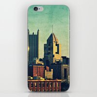 Dusk City Scape iPhone & iPod Skin