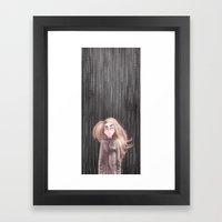 Awaiting For the Rain Framed Art Print