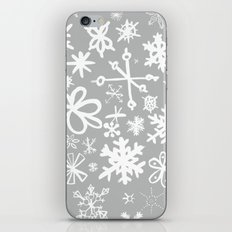 Snowflake Concrete iPhone & iPod Skin