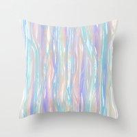 Tropical Blue Throw Pillow