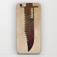 Rambo iPhone & iPod Skin