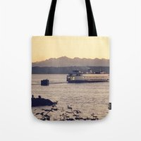 Puget Sound Ferry Tote Bag