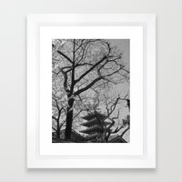 SAKURA @ TOKYO Framed Art Print