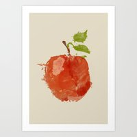 Apple 06 Art Print