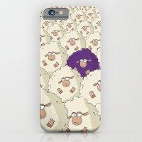 Sheep Pattern | Purple iPhone 6 Slim Case
