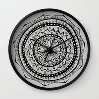 Mind Over Body Wall Clock
