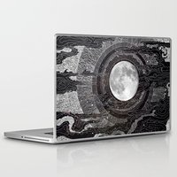 moon Laptop & iPad Skins featuring Moon Glow by brenda erickson