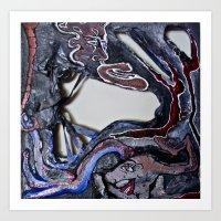 Destruction Fuels Rebirth Art Print