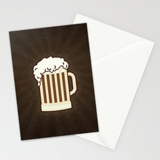 BEER solves everything Stationery Cards