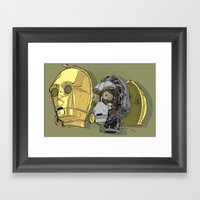 C Thru PO Framed Art Print