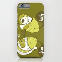Pea Brain Patty and Bird Brain Bimmy iPhone 6 Slim Case