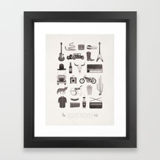 The Desert Rocker Kit Framed Art Print