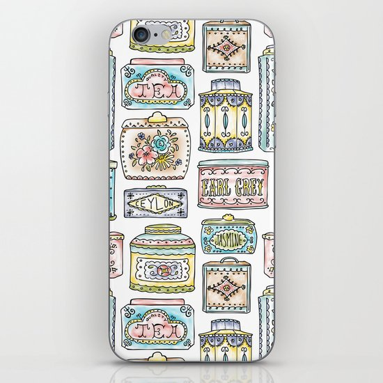 Tea Tins iPhone & iPod Skin