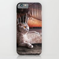 iPhone & iPod Case featuring King Boris by Alev Takil