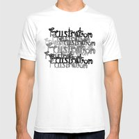 Frustration#2 Mens Fitted Tee White SMALL