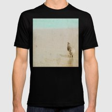 Sandpiper SMALL Mens Fitted Tee Black
