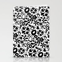 Graphic Garden Stationery Cards