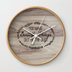 Beautiful Things Wall Clock