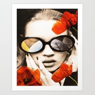 Poppy Pop Art Print