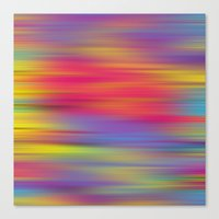 All The Colors  Canvas Print