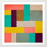 Geometric Love Art Print