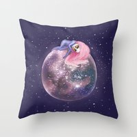 Lost In A Space / Callis… Throw Pillow