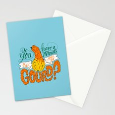 A Minute for the Gourd Stationery Cards