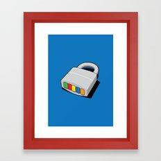 Code Hero Framed Art Print