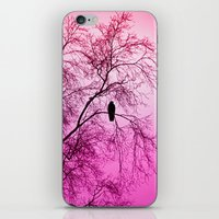 The Sentinal ~ Pink Abstract iPhone & iPod Skin