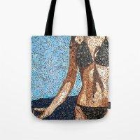 Summer Scarbble - Vintag… Tote Bag
