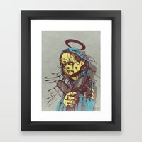 Shepherd II. Framed Art Print