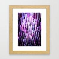 amethyst ascending Framed Art Print