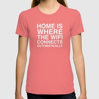 Home Womens Fitted Tee Pomegranate SMALL