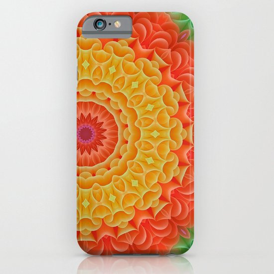 Orange/Yellow/Green K-scope iPhone & iPod Case