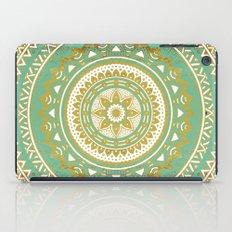Blue and Gold Mandala iPad Case