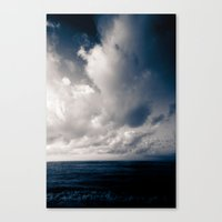 Summer Ver.navyblack Canvas Print