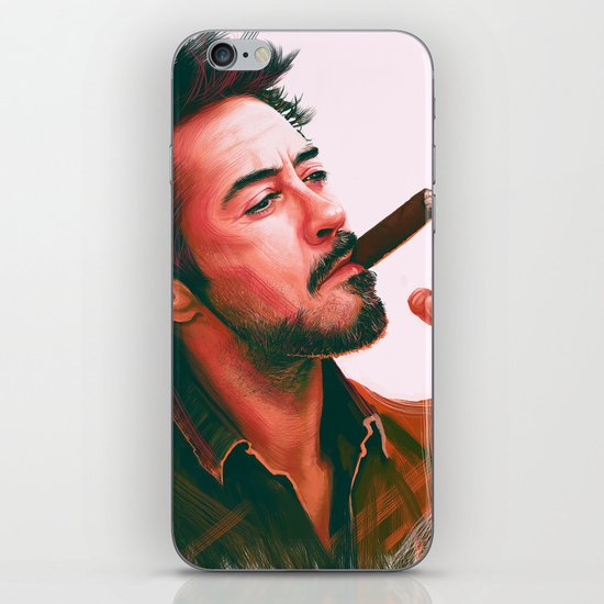 Mr Downey, Jr. iPhone & iPod Skin