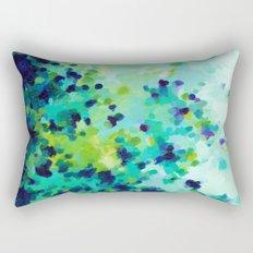 Aquamarine Addiction Rectangular Pillow