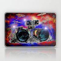 Psychedelic Drums Laptop & iPad Skin