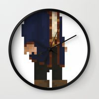Pixel Ranger Wall Clock
