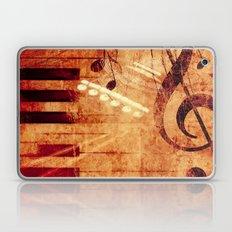 Music Collage Laptop & iPad Skin