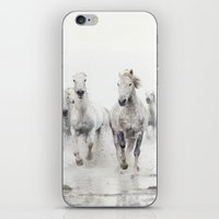 Ghost Riders - Horse Art iPhone & iPod Skin